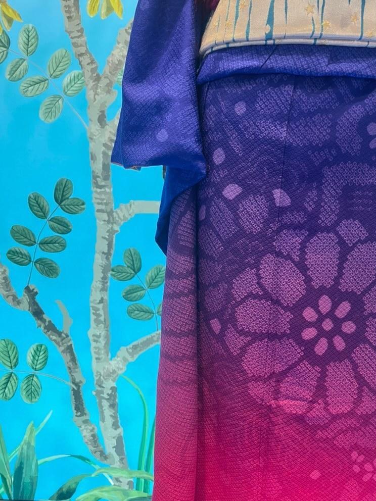 Digitaler Textildruck von der japanischen Modedesignerin Aguri Sagimori (c) Aguri Sagimori